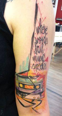 Tattoo Artist - Voller Kontrast