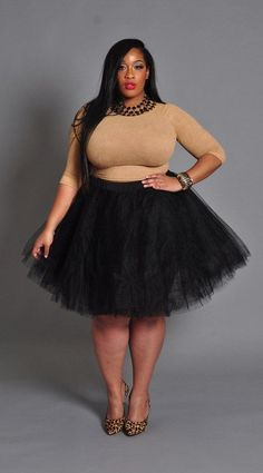 Plus Size Ebony