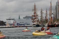 Die Kieler Woche bietet Spaß für Groß und Klein.