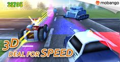 Deal For Speed 3D - An unbelievable very fast #Racing game!! By #GunAyStudio. Download now: http://www.mobango.com/deal-for-speed/?cid=1870624&catid=10&track=Q106X2015