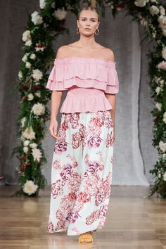 By Malina SS18 collection, Il Fiore, shown at Grand Hotel during Fashion Week in Stockholm, August 2017. Collection in-stores from Feb 1, 2018.