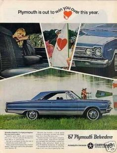 Vintage Car Advertisements of the 1960s