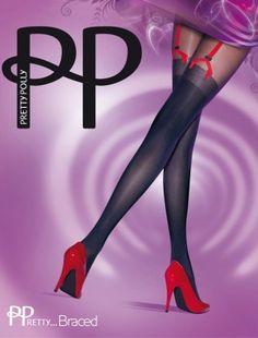 170829bf9ec5b Pretty Polly | Shop je favoriete Pretty Polly panty's en kousen online. Red SuspendersSuspender  TightsRed ...
