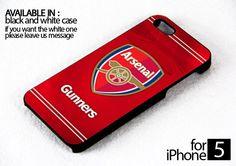 AJ 076 Arsenal F.C. logo RED - iPhone 4/4s Case