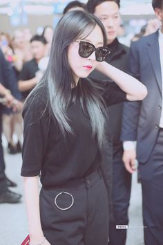Moonbyul casual style airport clothes she looks so cool- Mamamoo