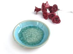 Small ceramic bowl Small ceramic dish Ceramic Ring Dish Wedding favor Light blue wedding Something blue Birthday Gift Gifts for her by VIBceramics from VIBceramics. Find it now at https://www.etsy.com/listing/481567155/small-ceramic-bowl-small-ceramic-dish?ref=rss!