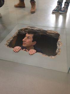Deze kunstenaar wilde met zijn kunst mensen bang maken