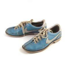 I've always wanted a pair of bowling shoes...these are vintage. I die.