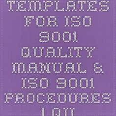Iso  Filled Forms Iso Templates For All The Departments
