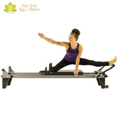 the spider pilates reformer exercise modification 2