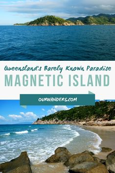 There are countless jaw-droppingly beautiful tropical islands off the coast of Queensland. Magnetic Island is one of the easiest to access. Australia Tourism, Queensland Australia, South Australia, Beautiful Beach Pictures, Beach Photos, Housing Jobs, City Of Adelaide, Pretty Beach, Little Island
