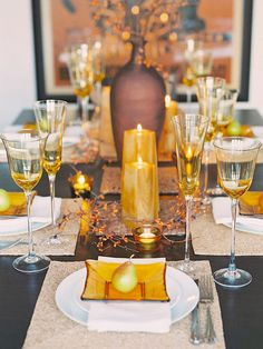 Duka vackert i höst – 17 tips på dukningar och dekorationer - Sköna hem