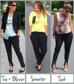 WHAT TO WEAR WITH STYLISH TRACK PANTS   Marionberry Style: 3 Ways to Wear Track Pants