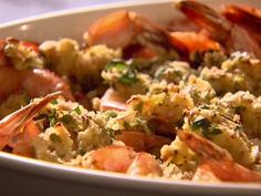 Weight Watchers Baked Shrimp Scampi.