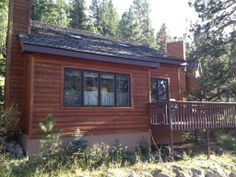 """Cabin vacation rental in Estes Park from VRBO.com! #vacation #rental #travel #vrbo $1080 """"eh"""" she says"""