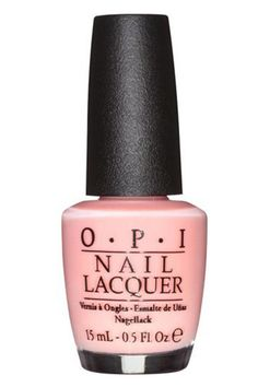 """Best fall nail colors:  """"I love a neutral nude with a pink hue, it's very Kim Kardashian. I wear a lot of black so it's a nice contrast. The perfect accent to my open toe booties."""" -Erin Toland, art director $9.50; ulta.com"""