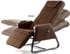 Zero gravity livingroom recliner - comfortable & cats won't get hurt by hiding in it like regular recliners!