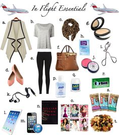 A Spoonful of Lovely: In Flight Essentials