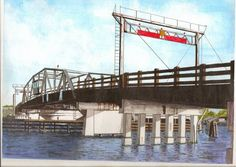 of Old Chincoteague Bridge posted in the Chincoteague, VA gallery  (you knew to wake up when you heard the clump clump clump under the tires.)