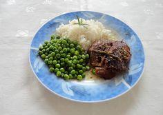 Mézes-rozmaringos-báránysült recept foto Grains, Beef, Food, Meat, Essen, Meals, Seeds, Yemek, Eten