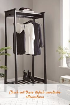 No room for a wardrobe, check out these clothes rail alternatives #clothesrail #wardrobealternatives @coxandcox Luxury Bedroom Furniture, Modern Home Furniture, Scandinavian Furniture, Retro Furniture, Bed Furniture, Bedroom Decor, Painting Furniture, Kitchen Furniture, Lux Bedroom