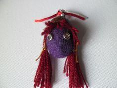 Martisor unicat: Violeta Christmas Ornaments, Holiday Decor, Handmade, Home Decor, Hand Made, Decoration Home, Room Decor, Christmas Jewelry, Interior Design