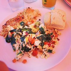 #Brunch at Founding Farmers!  #scramble #biscuits #hash (Photo Credit @onstreetsofstars)