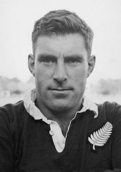 """Sir Colin Meads (1936-) - All Black, nicknamed """"Pine Tree"""", played 55 test matches between 1957-71."""