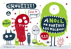 Noël microbes - Elise Gravel