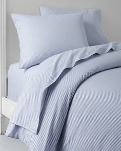 Chambray Percale Bedding