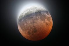 Partial eclipse of the Moon by Cristian Fattinnanzi on 500px