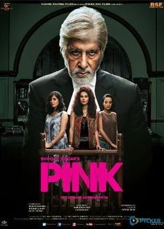 Movie Info : IMDB rating : Genre : Drama, Thriller Movie Name : Pink 2016 Hindi Movie DVDScr Size : MB) Language : Hindi Directed by : Aniruddha Roy Chowdhury Starring : Am… Streaming Vf, Streaming Movies, Pink Full Movie, Disney Pixar, Pink 2016, Pink Movie 2016, Hindi Movies Online, Bollywood Posters, Movies