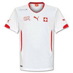 Camiseta de Suiza 2014-2015 Visitante e1c6c37e69aeb
