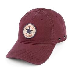 Converse Tipoff Baseball Cap - Red.  MUST HAVE