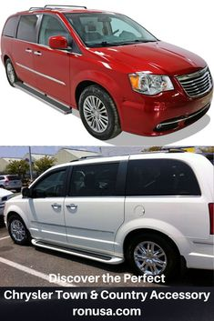 Our Chrysler Town and Country Running Boards allow for easy step access for children and elderly adults. #chryslertownandcountry