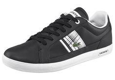 Produkttyp , Sneaker, |Schuhhöhe , Niedrig (low), |Farbe , Schwarz, |Obermaterial , Materialmix aus Synthetik und Leder, |Verschlussart , Schnürung, |Laufsohle , Gummi, | ...