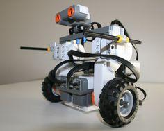 real robots | El Toro (the Bull) NXT-Robot