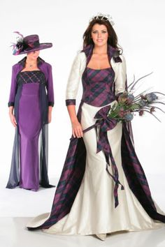 Our tartan wedding collection of Tartan Spirit Couture wedding dresses and dresses for bridesmaids and mothers of the bride are perfect for Scottish themed weddings. Tartan Wedding Dress, Scottish Wedding Dresses, Scottish Wedding Traditions, Wedding Dresses London, Tartan Dress, Wedding Dresses Plus Size, Modest Wedding Dresses, Tartan Plaid, Scottish Weddings