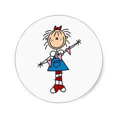 Annie With Hearts Sticker