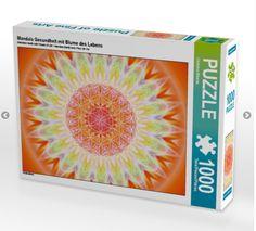 1000 Teile Puzzle exklusiv beim Calvendo-verlag Mandala Gesundheit von Christine…