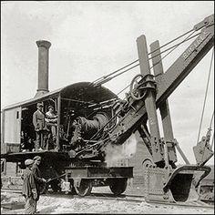 Locomotive Engine, Steam Locomotive, Mining Equipment, Heavy Equipment, Caterpillar Equipment, Steam Tractor, Bucyrus Erie, Work Train, Train Pictures