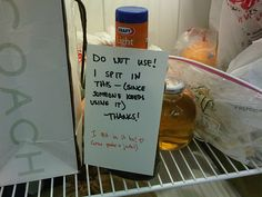 The Action-Oriented Response   The 26 Funniest Responses To Passive Aggressive Notes