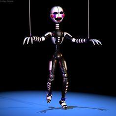 Funtime Puppet by The-Smileyy on DeviantArt Five Nights At Freddy's, Ballora Fnaf, Anime Fnaf, Freddy S, Plantas Versus Zombies, Fnaf Wallpapers, Fnaf Characters, Fnaf Sister Location, Fnaf Drawings