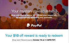 reward email