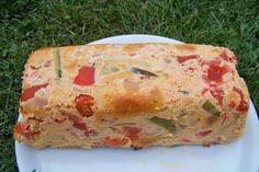 Terrine de thon froide aux légumes d'été