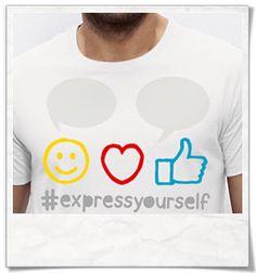 Express yourself ;) T-Shirt für Männer ( Fair, Öko und Bio ) Express yourself ;) T-Shirt for men ( Fair, Eco and Organic ) / print / tshirts / shirts / Shirt / T-Shirt /  tshirtsLove / mode / Fashion. #smile #highthumb #like #love #hashtag #expressyourself #emoji #fairtrade #fairwear #fairfashion #slowfashion #ethicalfashion #nachhaltig #sustainable #cool #ecofashion #fashionblogger #slowfashionblogger #Männergeschenke #bblogger #greenbblogger #greenliving #grünemode #bio #organic