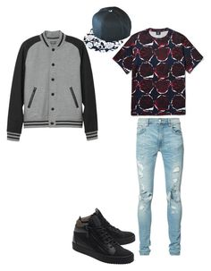 """Look para namorado! ♥"" by camibg on Polyvore featuring AMIRI, L.L.Bean, Giuseppe Zanotti, men's fashion and menswear"