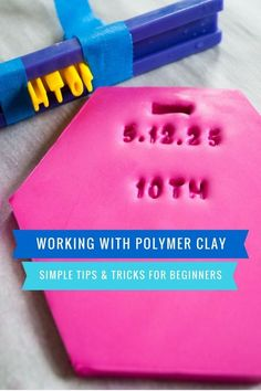 OH DEAR!!! You really need to learn This Clay art . because this pin is genuinely suitable ..... Polymer Clay Tools, Sculpey Clay, Polymer Clay Projects, Polymer Clay Beads, Baking Polymer Clay, Polymer Clay Recipe, Easy Polymer Clay, Clay Crafts For Kids, Kids Clay