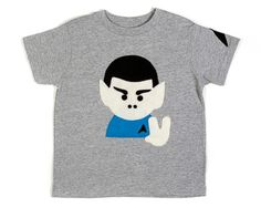 Cutest Baby Clothes 2013: Spock baby tee by Kayo Master