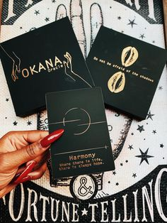 OKANA Oracle deck – AKAMARA Tarot Deck Box, Black Card, True Nature, Oracle Cards, Guide Book, Rose Petals, Tarot, Messages, This Or That Questions